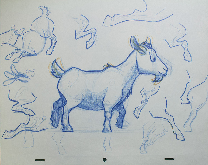 Bruce the goat inspired by the Mudchute pygmy goats! See more from Christina Susanna Nerland