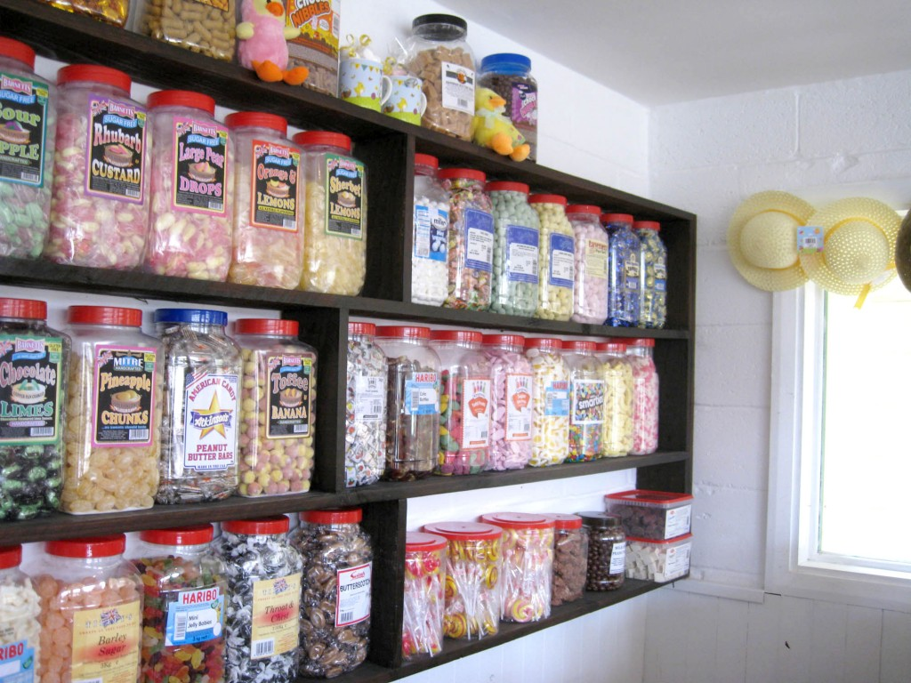 A wide range of traditional sweets.
