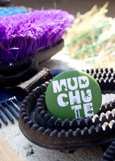 Mudchute Badge Green