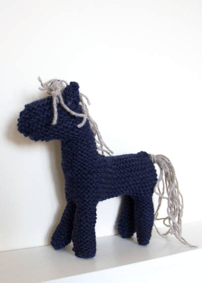 Knitted Mudchute Wool Pony