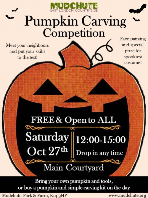 Pumpkin Carving Competition27.10.18
