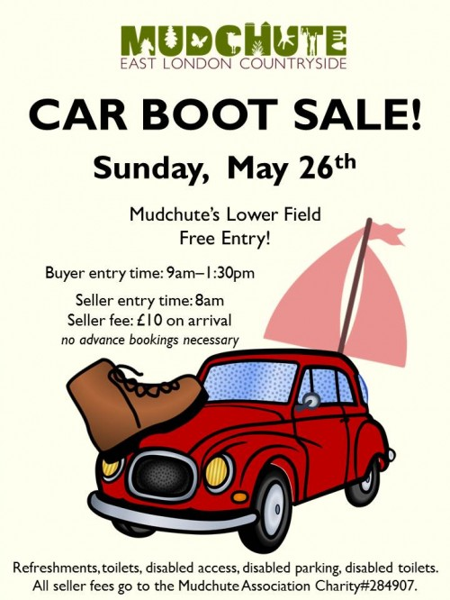 Car Boot Sale - Poster